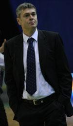 coach Ainars Bagatskis