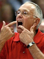 coach Larry Brown