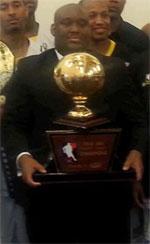 coach D.J. Douglas