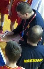 coach Dusan Dubljevic