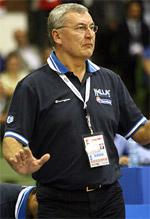 coach Jonas Kazlauskas