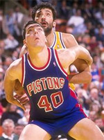 coach Bill Laimbeer