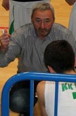 coach Rade Petrovic