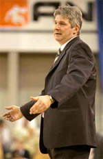 coach Ales Pipan