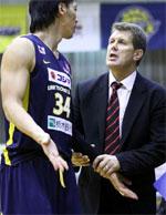 coach Antanas Sireika