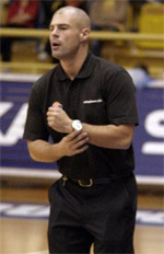 coach Mike Taylor