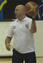 coach Toni Vujanic