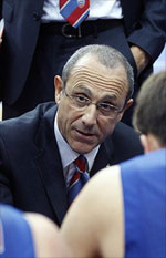 Ettore Messina action
