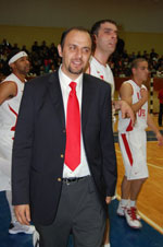 Ahmet Gurel Alp basketball