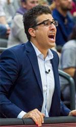 Hamed Attarbashi basketball