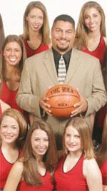 Ricky Benitez basketball