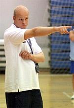 Agust Bjorgvinsson basketball
