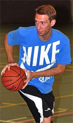 Gerrit Driessens basketball