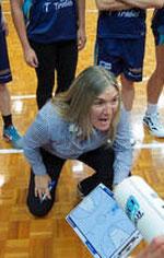 Carrie Graf basketball