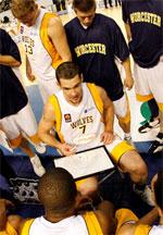 Skouson Harker basketball