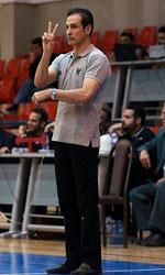 Farzad Kouhian basketball