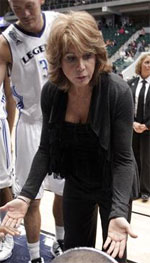 Nancy Lieberman basketball