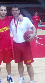 Petar Mijovic basketball