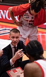Ziga Mravljak basketball
