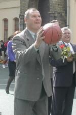Modestas Paulauskas basketball