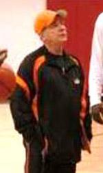 Terry Sare basketball