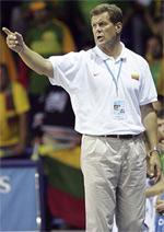 Antanas Sireika basketball
