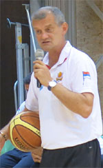 Zoran Sretenovic basketball