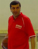 Davit Ustiashvili basketball