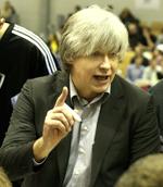 Valdis Valters basketball