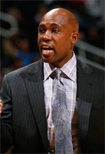 Jacque Vaughn basketball