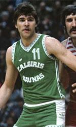 Arvydas Sabonis basketball