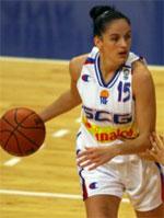 Aleksandra Vujovic basketball