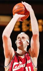 Zydrunas Ilgauskas basketball
