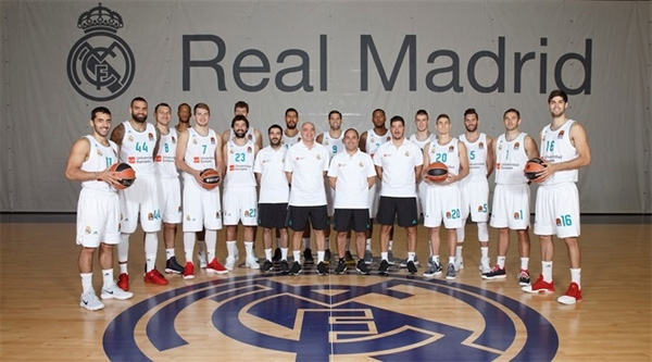Real madrid basketball news roster rumors stats awards season 2017 2018 stopboris Image collections