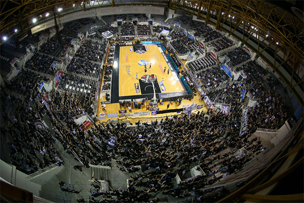 Home court paok sport arena 8 125 for Paok salonique basket