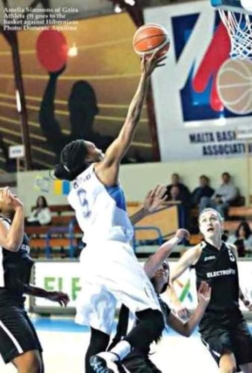Image result for amelia simmons basketball